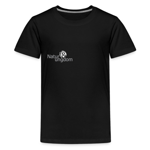 LOGO STOR BW IN png - Teenager premium T-shirt