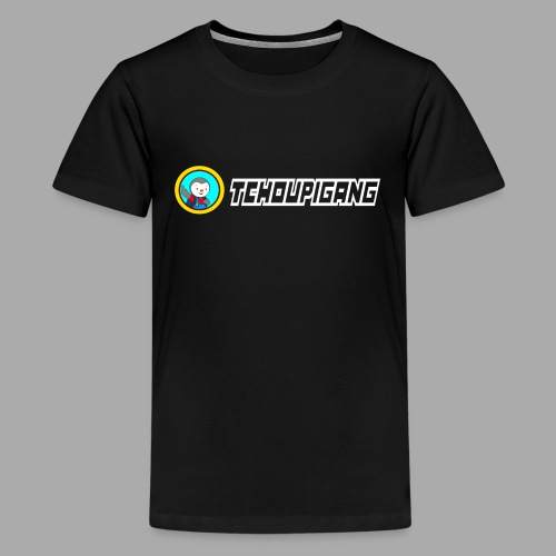 "Seconde collections ""BLANC"" - T-shirt Premium Ado"