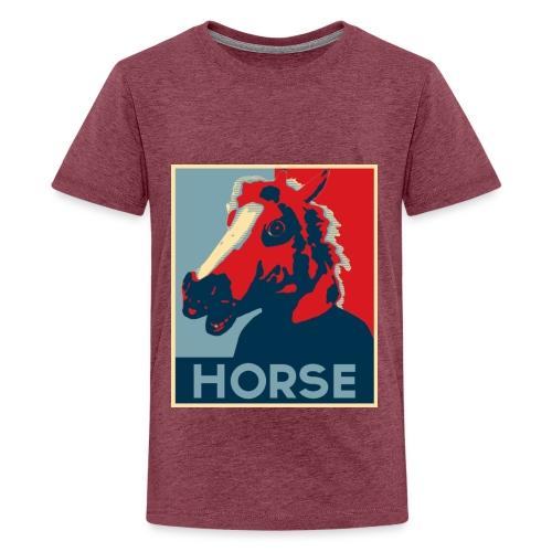 Barrack Obama Horse V2 jpg - T-shirt Premium Ado