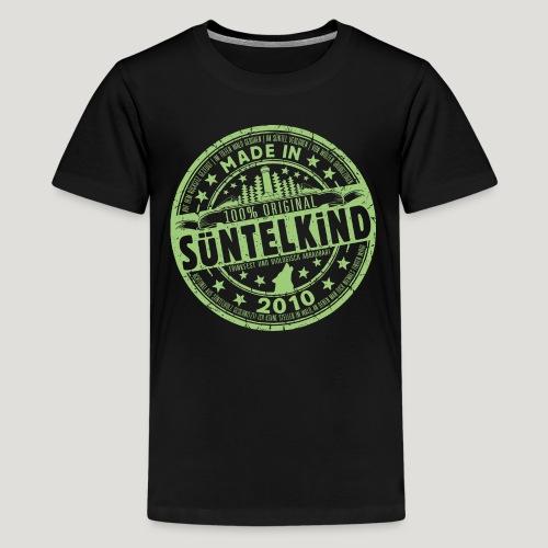 SÜNTELKIND 2010 - Das Süntel Shirt mit Süntelturm - Teenager Premium T-Shirt