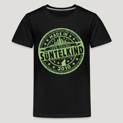 SÜNTELKIND 2010 - Teenager Premium T-Shirt