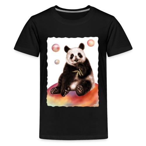 Panda World - Maglietta Premium per ragazzi