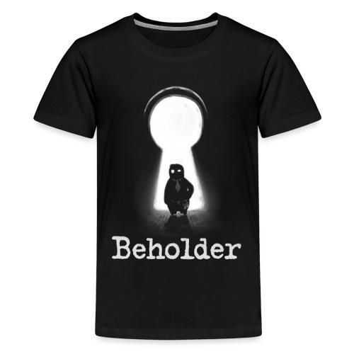 Carl in a Keyhole - Teenage Premium T-Shirt