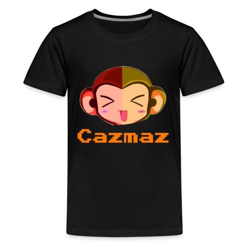 Cazmaz Logo Tee png - Teenage Premium T-Shirt