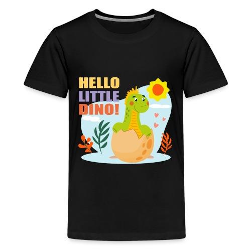 Little Dino - Camiseta premium adolescente