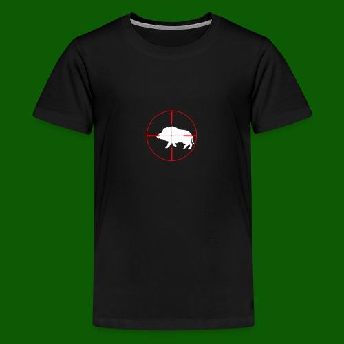 Boar Shooter - Premium-T-shirt tonåring