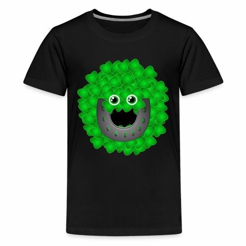 luckyface - Teenager Premium T-Shirt