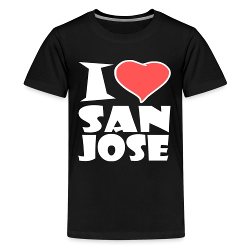 I love San Jose - Teenager Premium T-Shirt