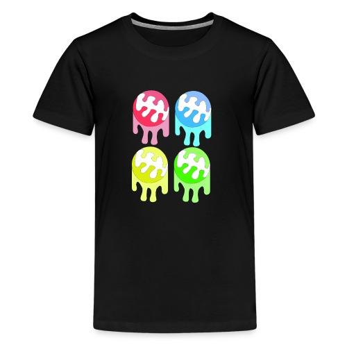 kleuren bal - Teenager Premium T-shirt