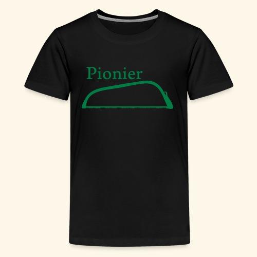 Pionier Säge - Teenager Premium T-Shirt