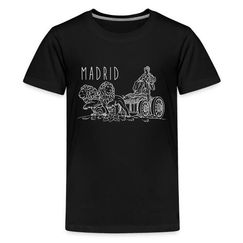 CIBELES BLANCO - Camiseta premium adolescente