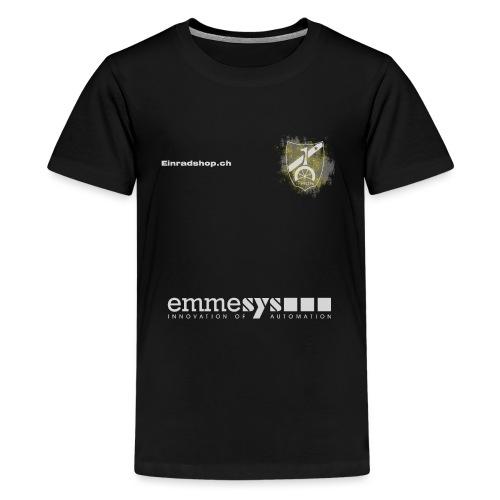 Offizielles Shirt des Einradverein Thun - Teenager Premium T-Shirt