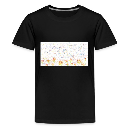 flores - Camiseta premium adolescente