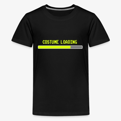 Costume Loading Halloween Costume patjila - Teenage Premium T-Shirt