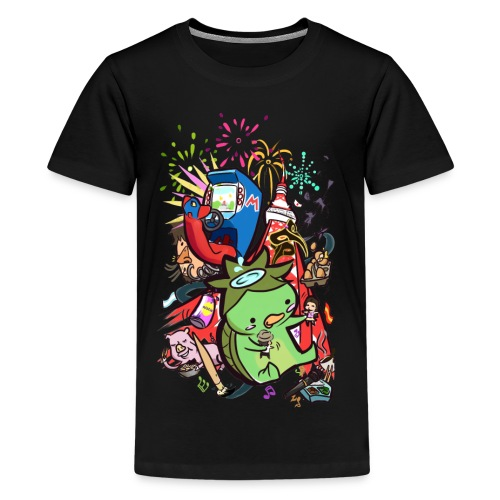 t shirt design best of 2012 by toen d5qaap9 png - Teenager Premium T-shirt