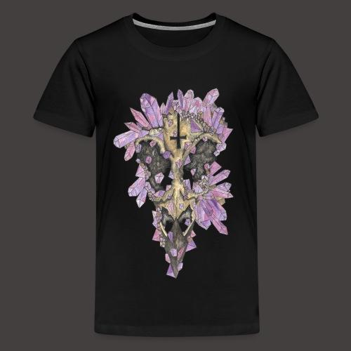Le Corbeau de Cristal Couleur - T-shirt Premium Ado