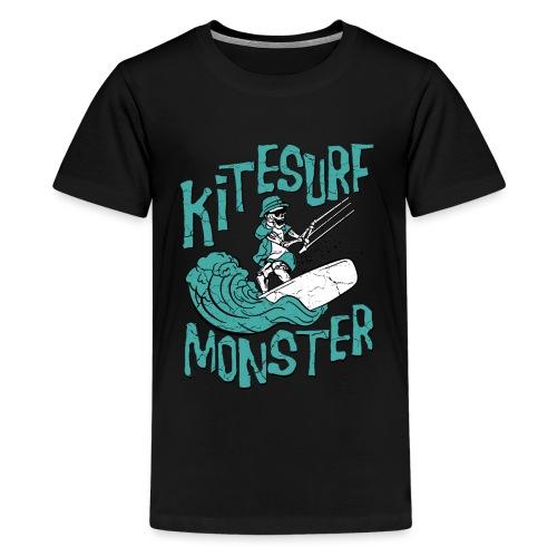 Kitesurf Monster - Teenager Premium T-Shirt