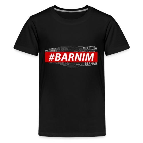 HASHTAG BARNIM - Teenager Premium T-Shirt