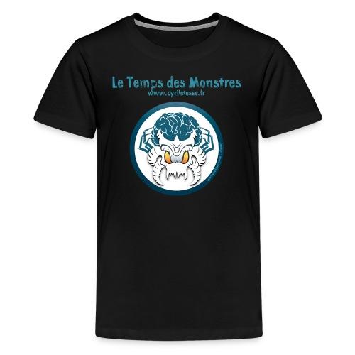 tshirt-monstre-fond-blanc - T-shirt Premium Ado