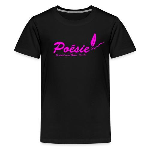 Poésie - T-shirt Premium Ado