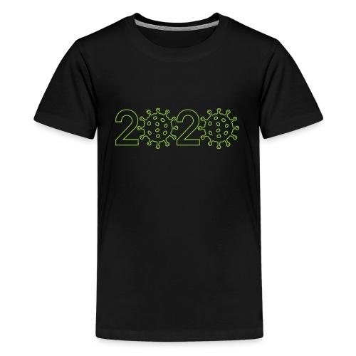 2020 coronavirus - Camiseta premium adolescente