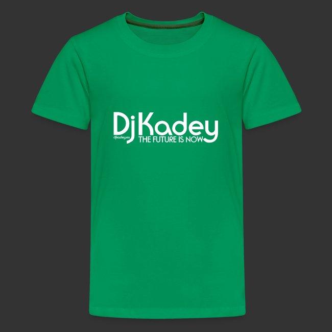 White Dj Kadey Logo