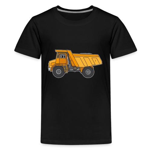 Kipplaster, Muldenkipper - Teenager Premium T-Shirt