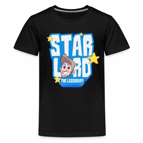 Blue Tee Logo - Teenage Premium T-Shirt