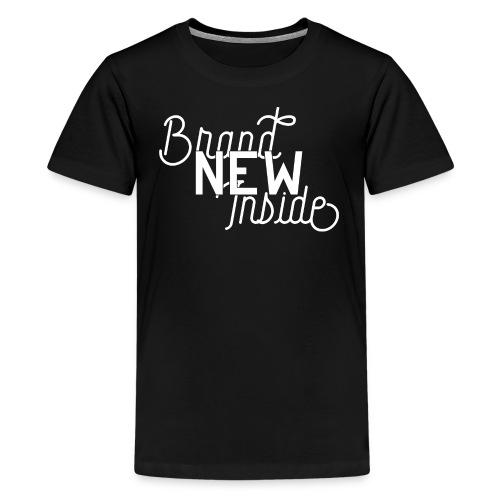 Brand New Inside because of Jesus - Teenager Premium T-Shirt