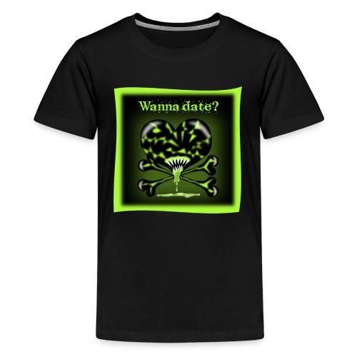 FreakyFriends: Wanna-date - Teenager Premium T-Shirt