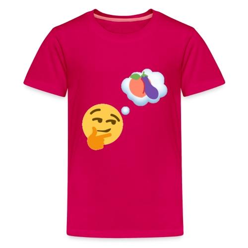 Johtaja98 Emoji - Teinien premium t-paita