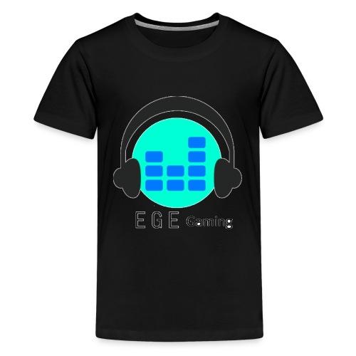 EGE Gaming Logo - Teenager Premium T-Shirt