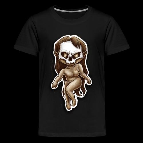 beauty of death - T-shirt Premium Ado