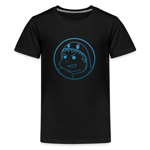 Big-logo-Blue2 - Teenage Premium T-Shirt