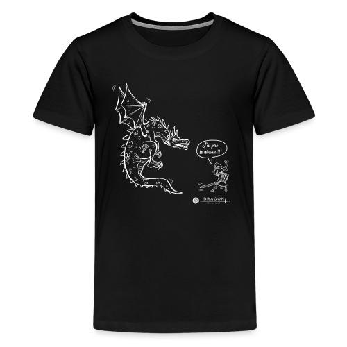 j'ai pas le niveau !!! - T-shirt Premium Ado