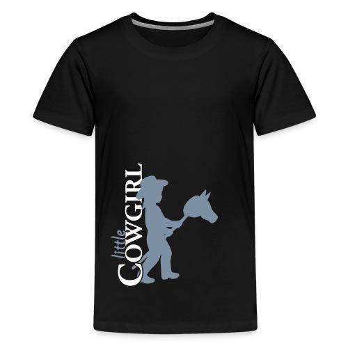 LittleCowgirl's - Teenager Premium T-Shirt
