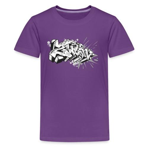 graffiti 2Wear dae120 2tone - Teenager premium T-shirt