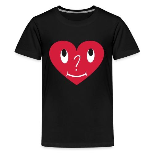 S_Grafik_Herz_C2_REV19091 - Teenager Premium T-Shirt