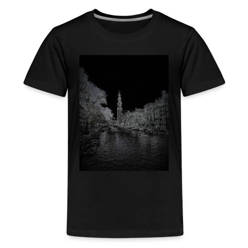 Amsterdam Westerkerk - Teenager Premium T-shirt