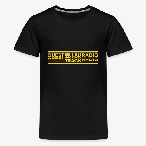 Logo Long jaune - T-shirt Premium Ado
