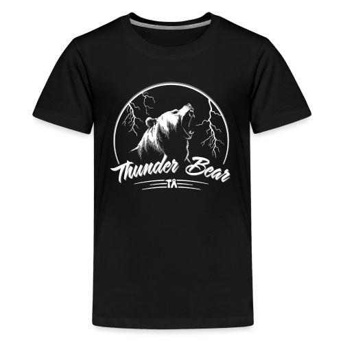 Thunder Bear - Teenage Premium T-Shirt