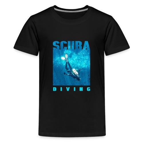 Scuba diving Scuba dive - Camiseta premium adolescente