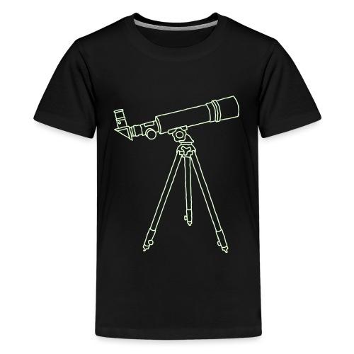 Teleskope Fernrohr - Teenager Premium T-Shirt