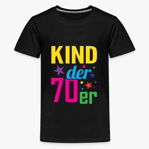 Kind der 70er - Teenager Premium T-Shirt