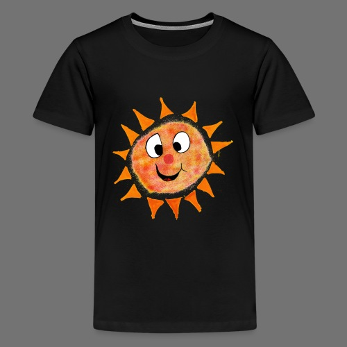 Aurinko - Teinien premium t-paita
