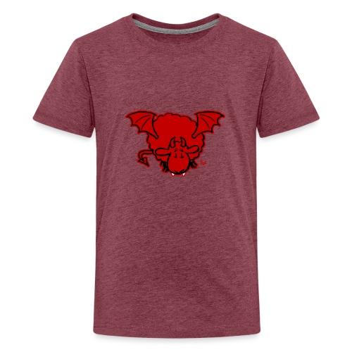 Devil Sheep - Teenage Premium T-Shirt