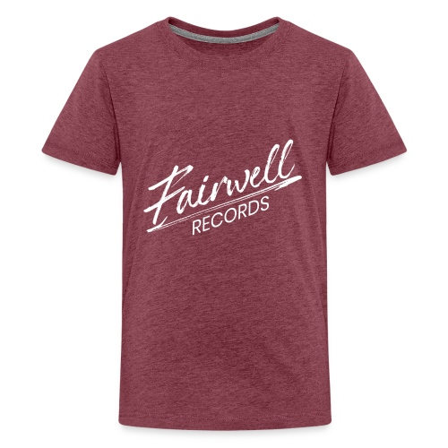 Fairwell Records - White Collection - Teenager premium T-shirt