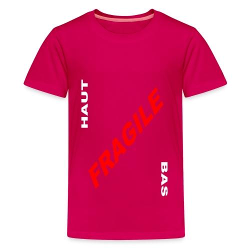 FRAGILE - T-shirt Premium Ado