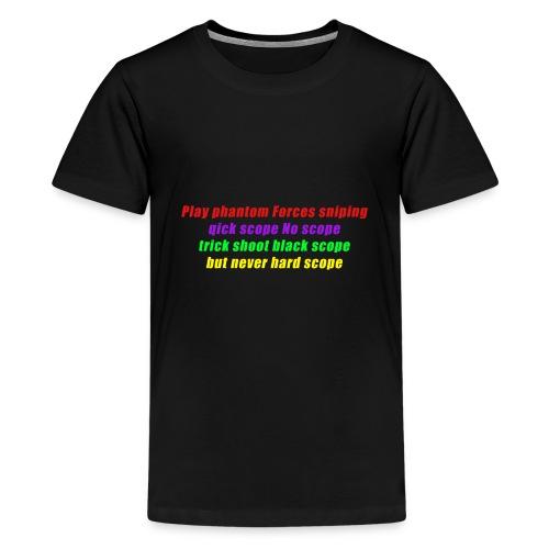 phantom forces - Premium T-skjorte for tenåringer