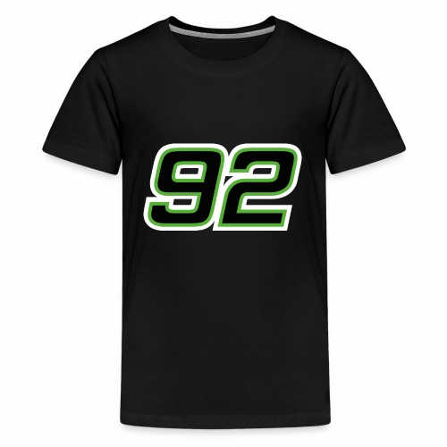 Startnummer 92 - Teenager Premium T-Shirt